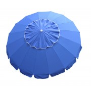 8' Royal Blue Tilt Beach Market Umbrella