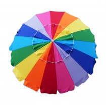 8' Rainbow Tilt Beach Market Umbrella