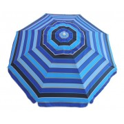 6.5ft Blue Stripe Umbrella 93028