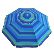 6.5ft Blue Stripe Umbrella 15-03